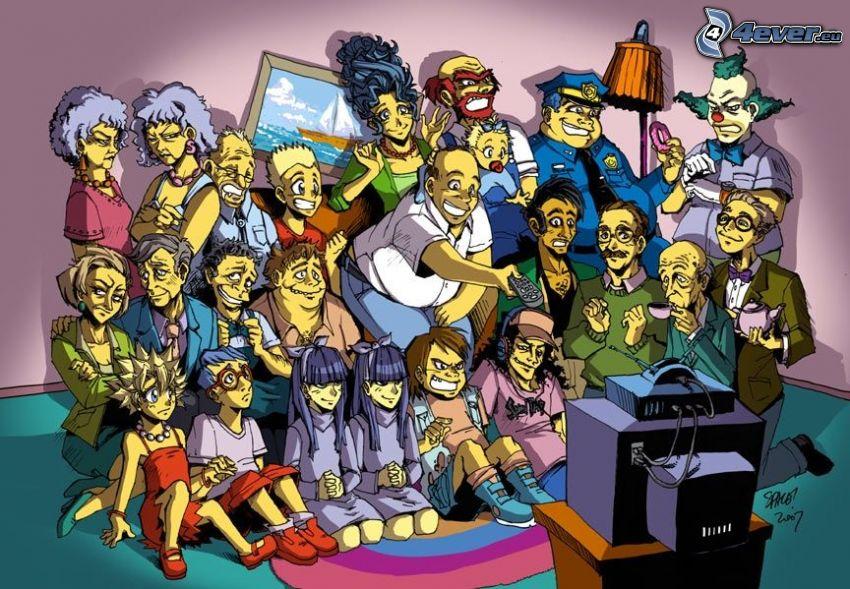 Los Simpson, anime