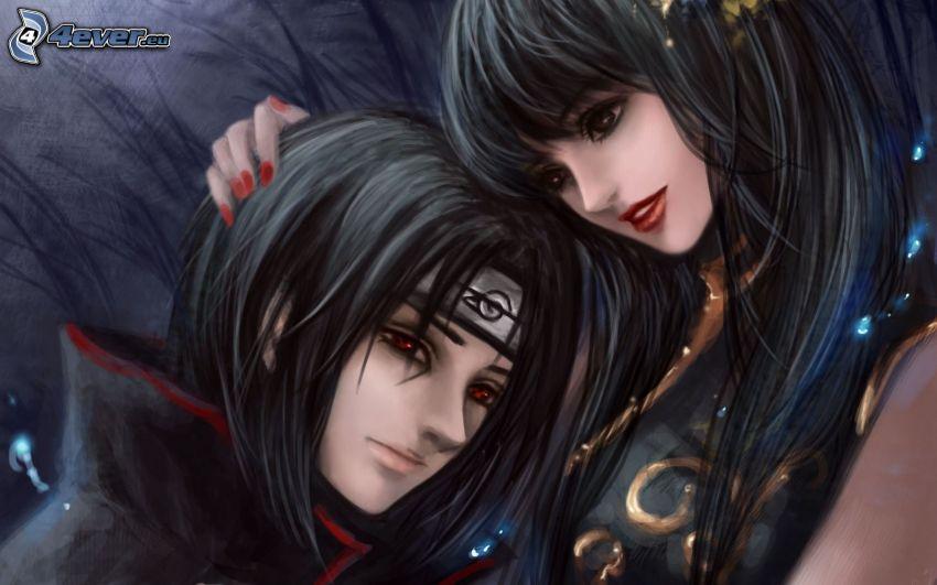 Naruto, pareja anime