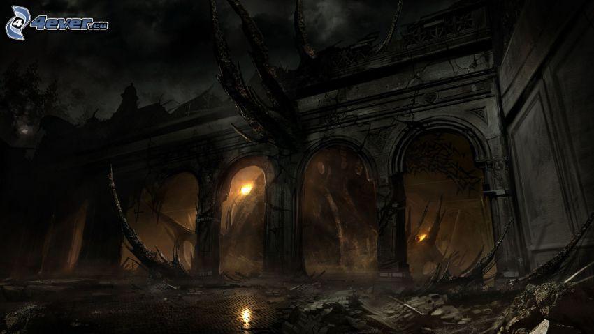 casa de miedo