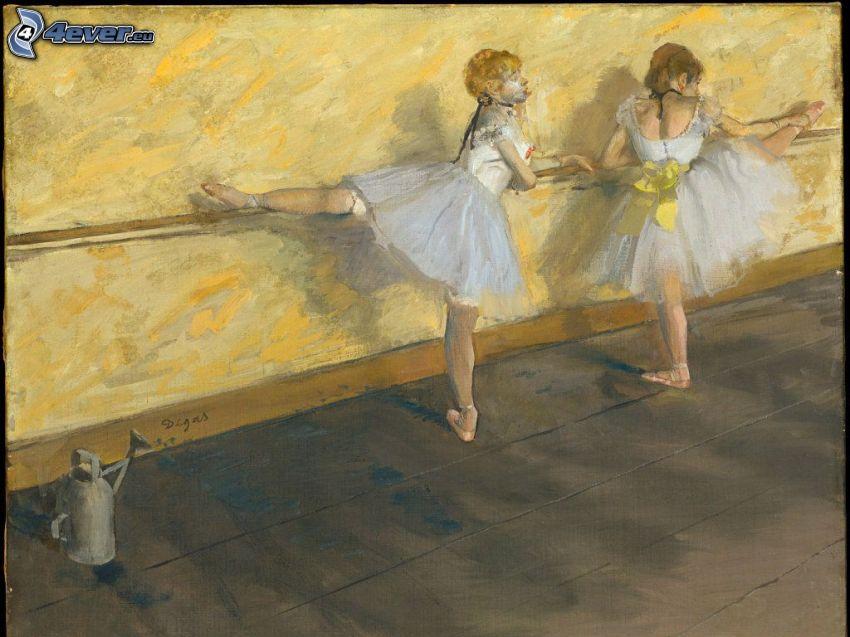 bailarinas, regadera