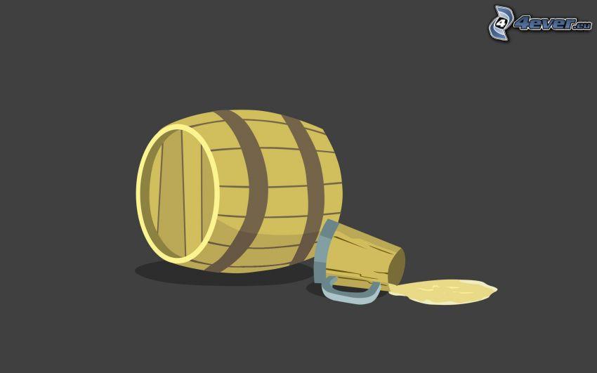 barril, cerveza