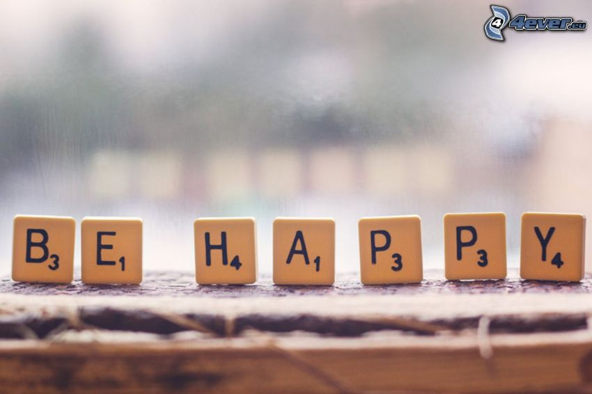 be happy, Scrabble