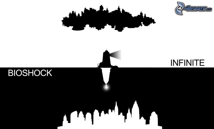 BioShock, blanco y negro