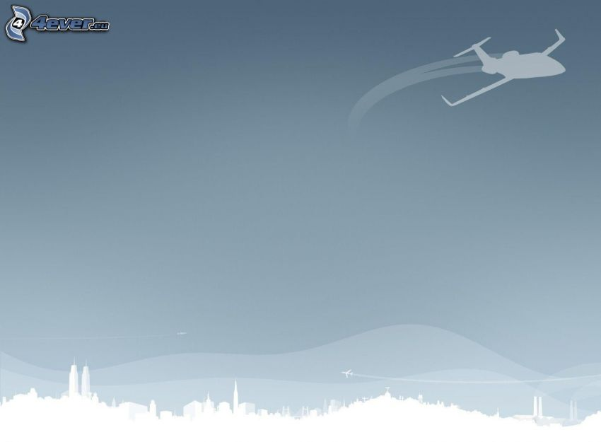 Ciudad de stock, jet privado