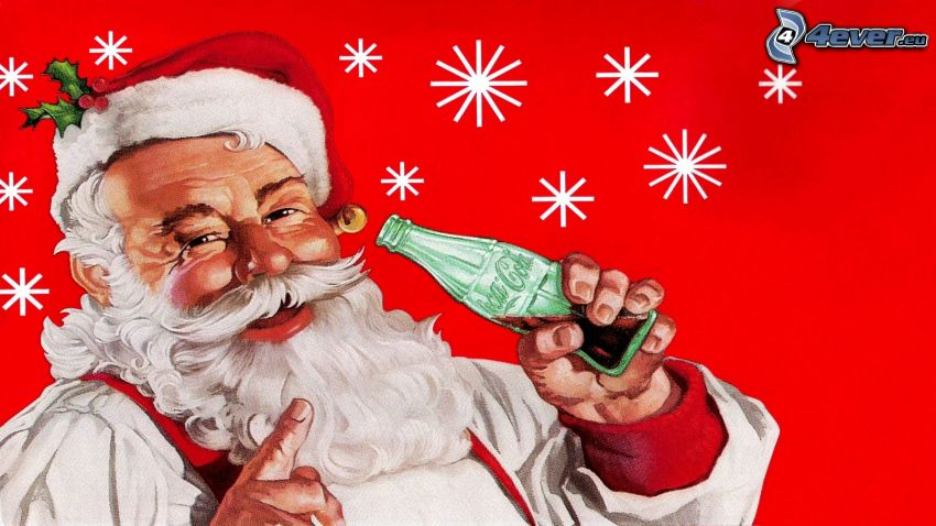 Coca Cola, Papá Noel