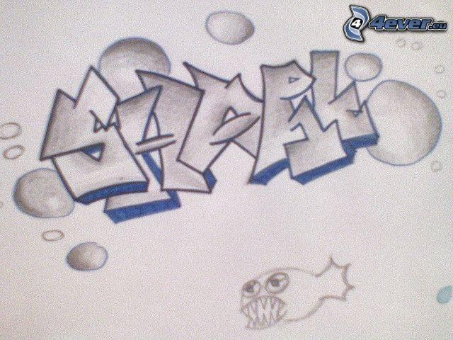 grafiti, hip hop