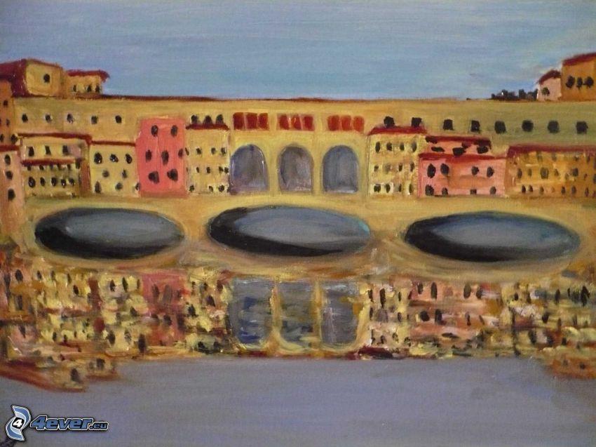 Ponte Vecchio, puente, Florencia