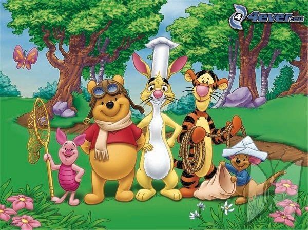 dibujos animados, Winnie the Pooh
