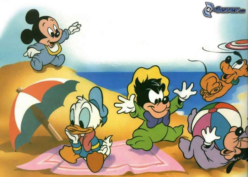 DuckTales, Mickey Mouse, Pato Donald, Goofy, Pluto, Personajes de Disney