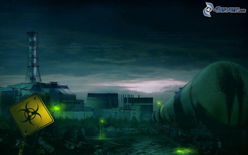 Biohazard, central eléctrica