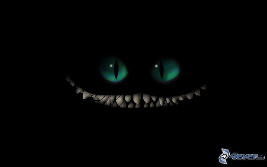 dientes, sonrisa, cara