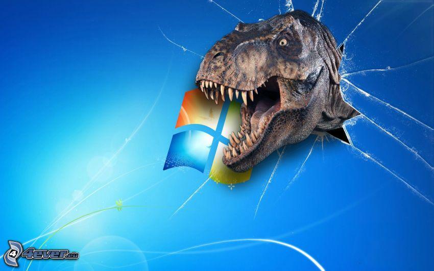 dinosaurio, Windows