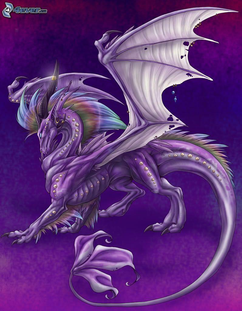 dragón de la historieta, Criatura de una historieta