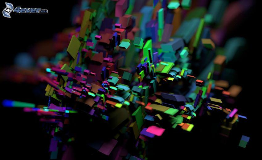 formas de colores