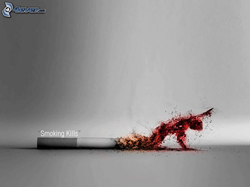 fumar mata, cigarrillo, ayuda