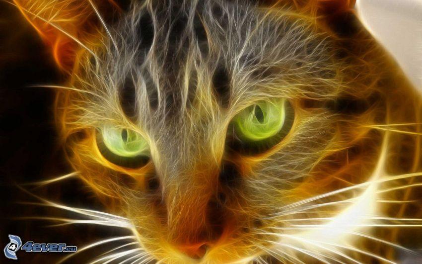 gato fractal