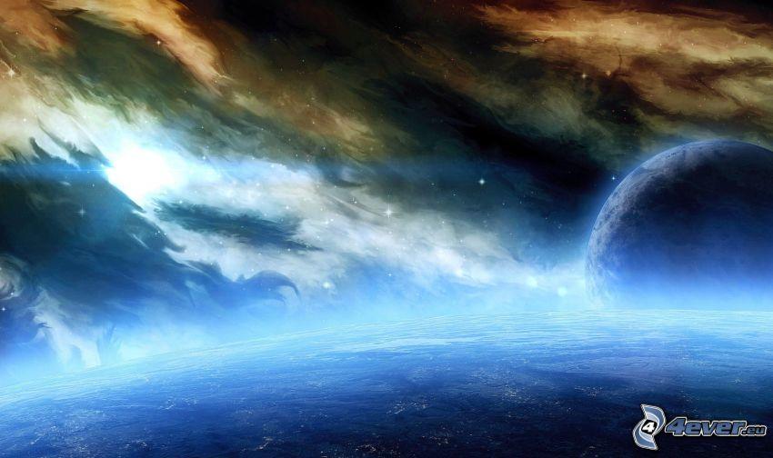 mes, Nebulosa