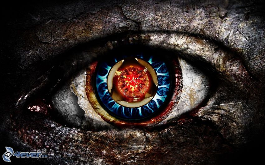 ojo abstracto