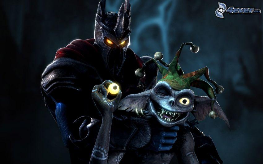 Overlord 2, caballero oscuro, bufón