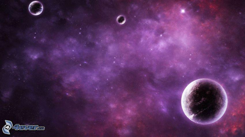 planetas, Nebulosa