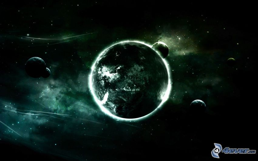 planetas, universo