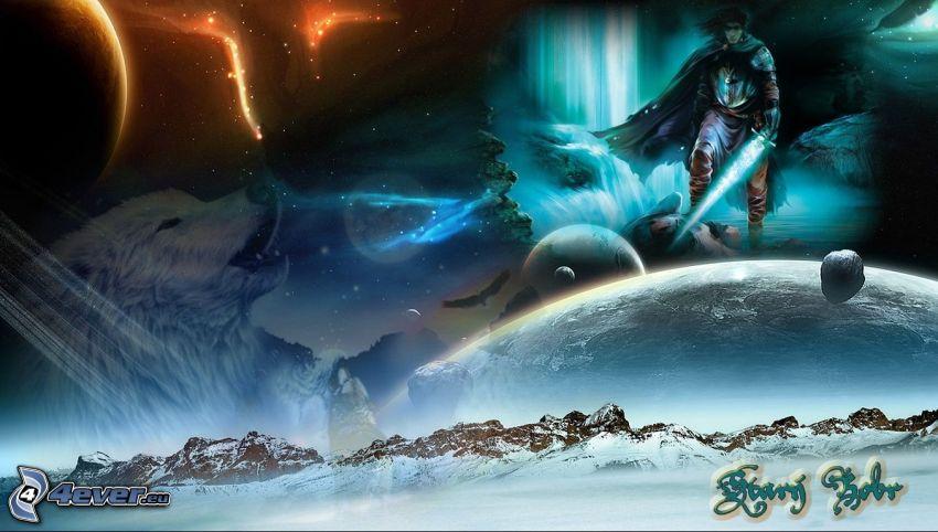 universo, Tierra, sierra