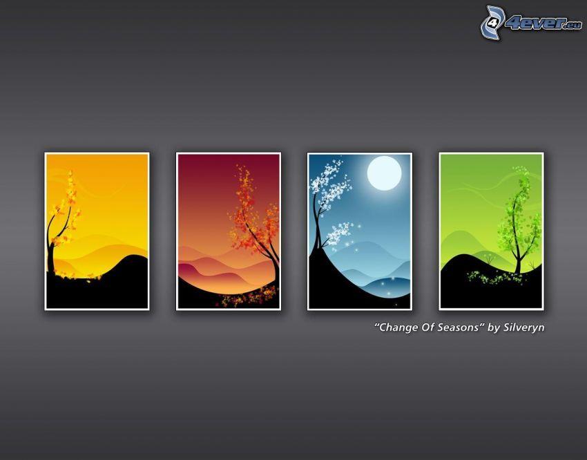 estaciones de año