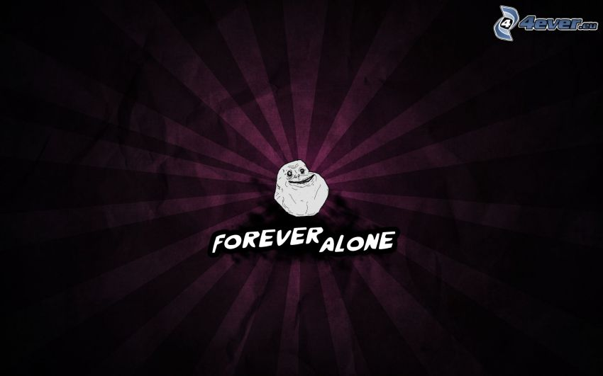 forever alone, Smiley, cinturones de color púrpura