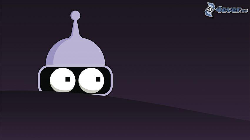 Futurama, Personaje de dibujos animados