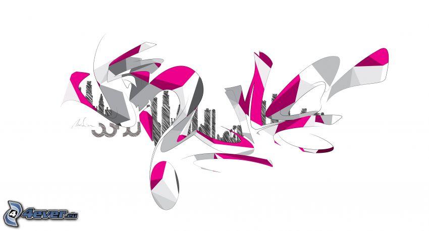 grafiti, 3D