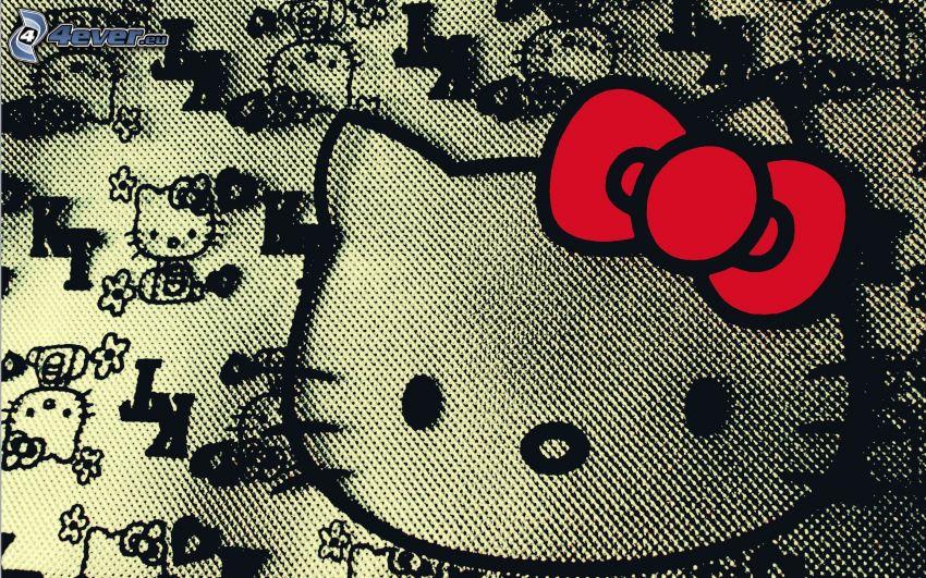 Hello Kitty, pegadura