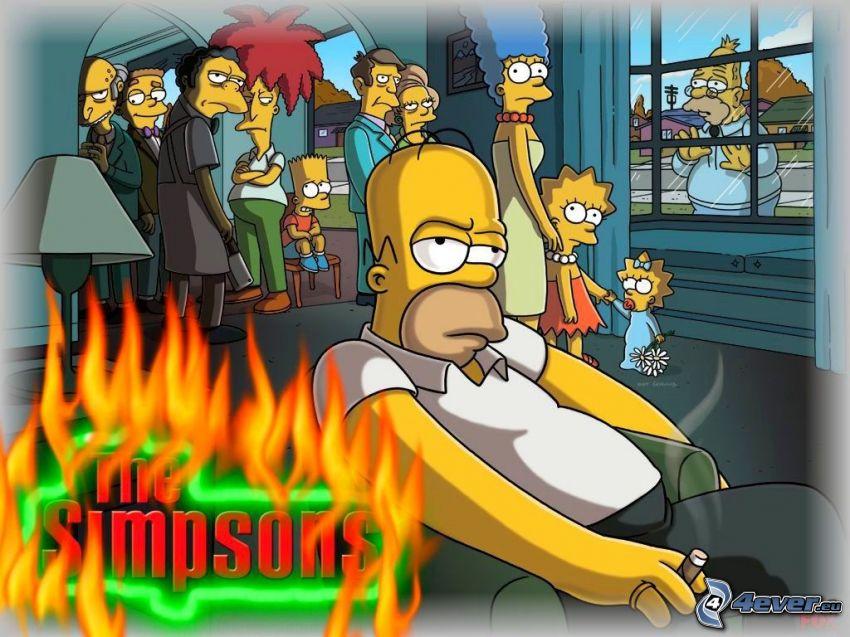 Los Simpson, Homer Simpson
