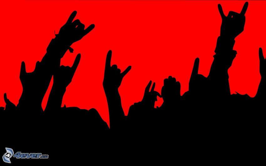 manos, Fans
