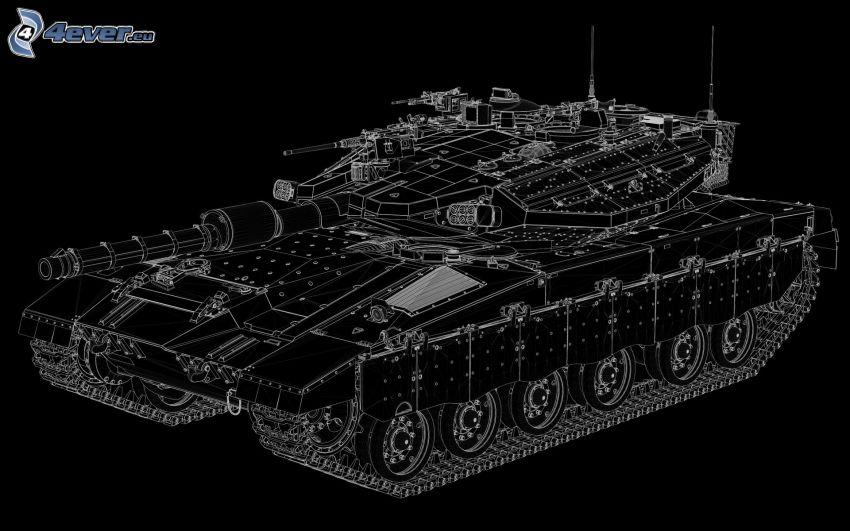 Merkava, tanque