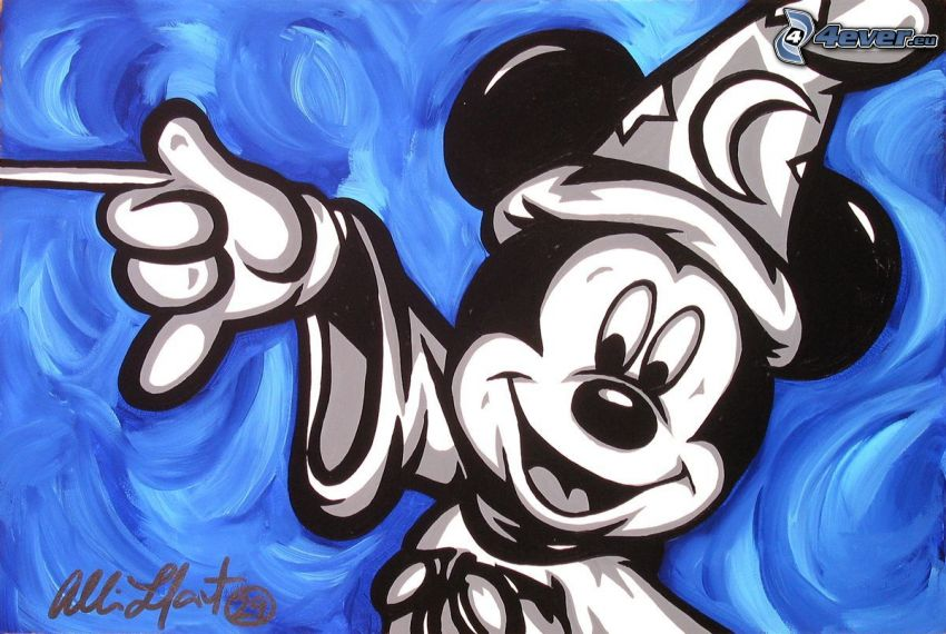 Mickey Mouse, hechicero