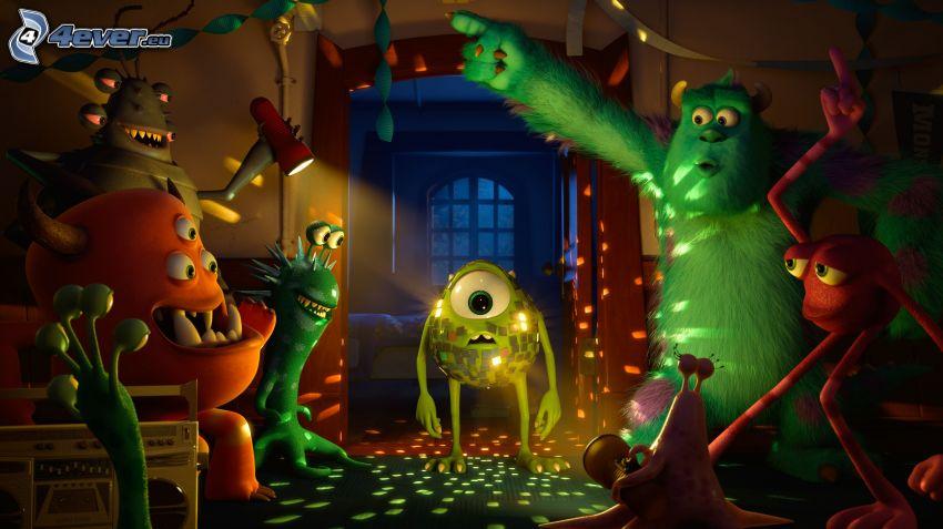 Monsters, Inc., fiesta