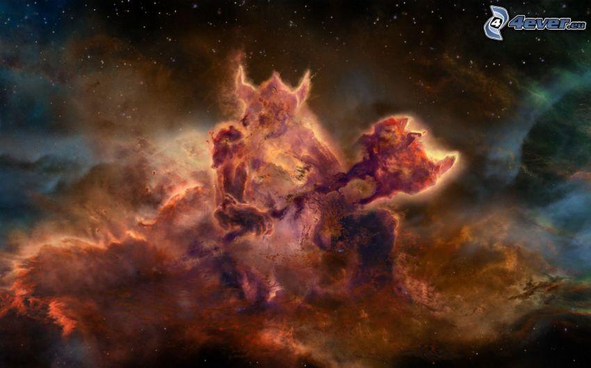 Nebulosa, diablo, universo