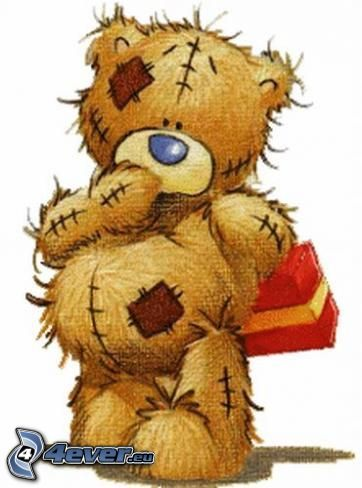 oso de peluche, regalo