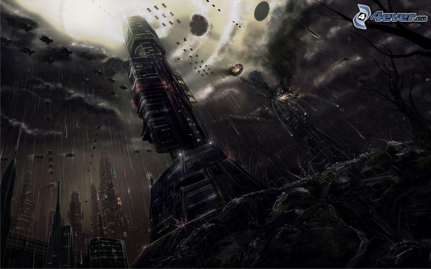 paisaje ciencia ficción