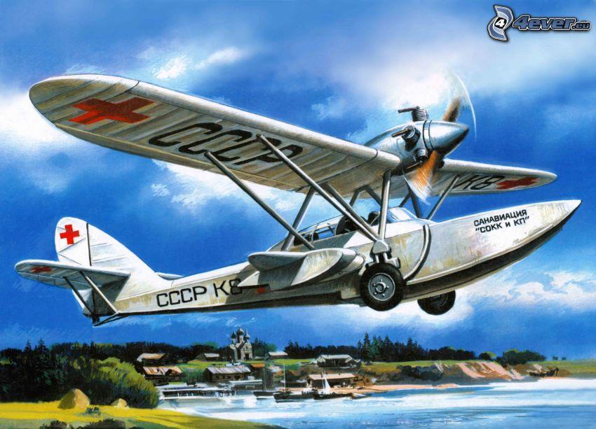 pequeño avión deportivo