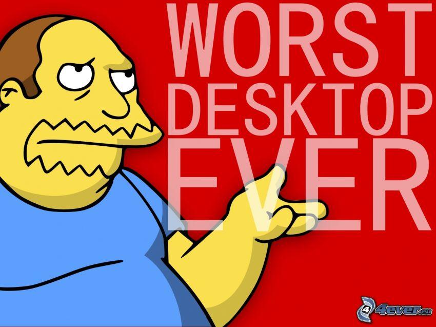 Personaje de dibujos animados, Los Simpson