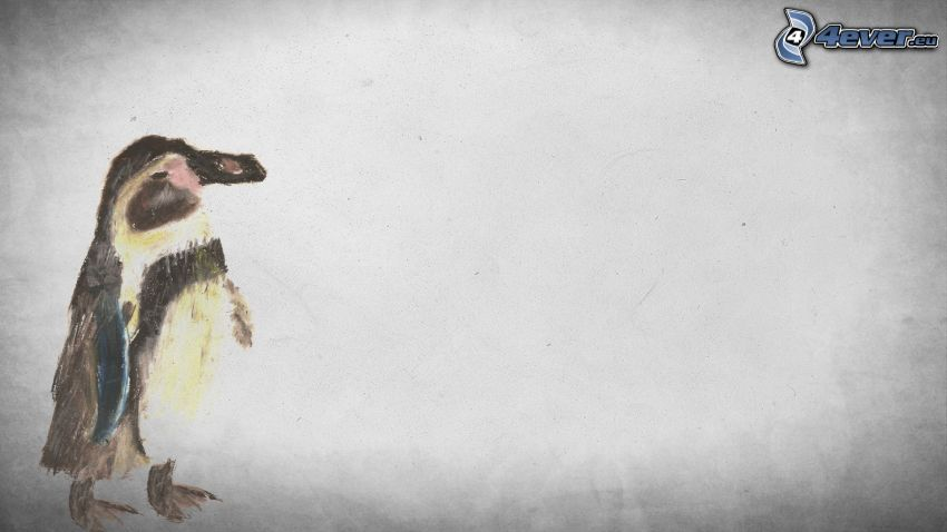 pingüino de la historieta
