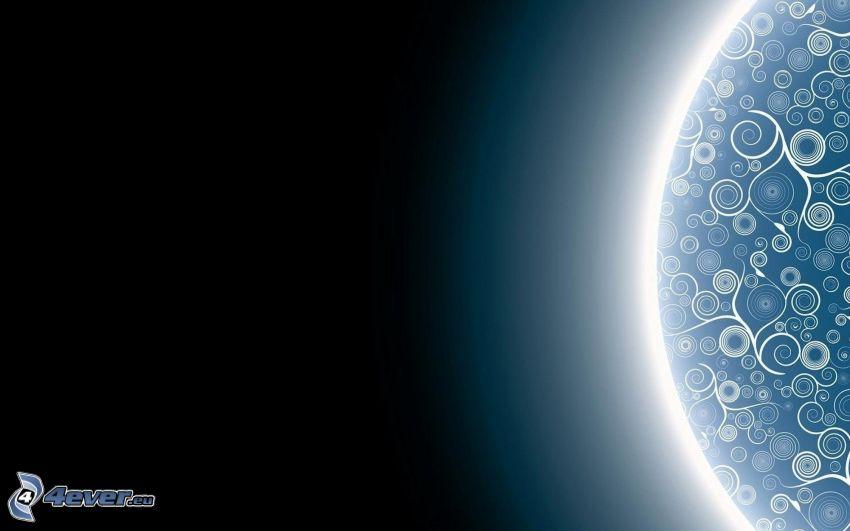 planeta, círculos