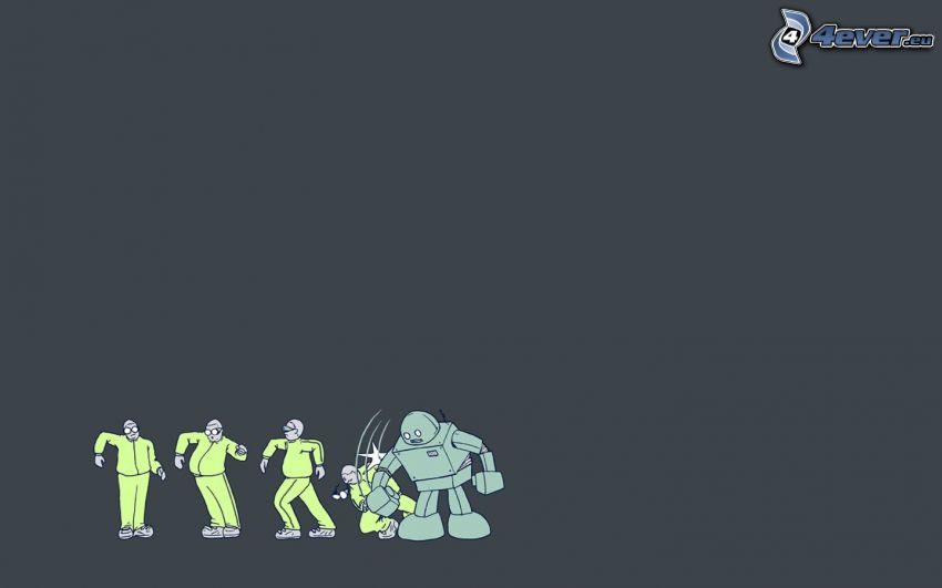 robot, caracteres
