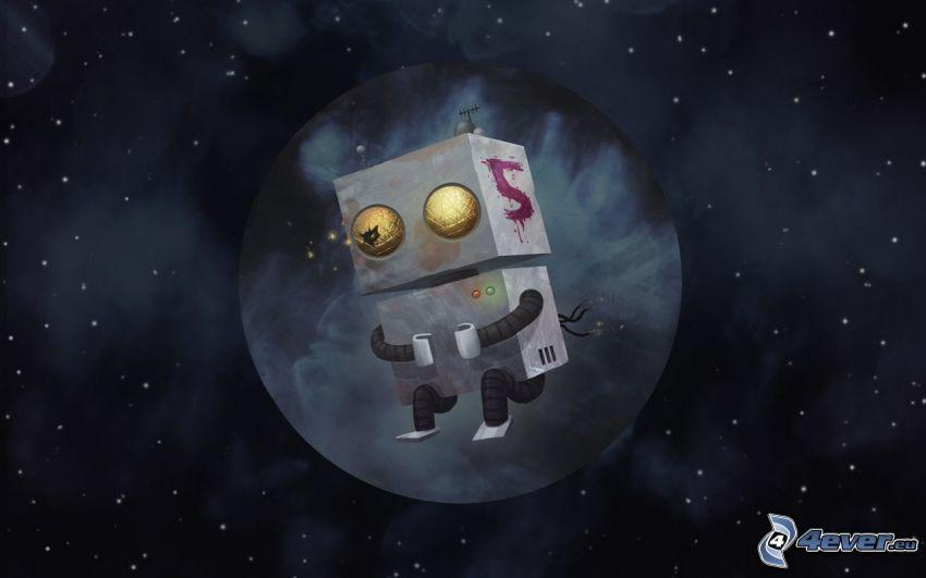 robot, universo