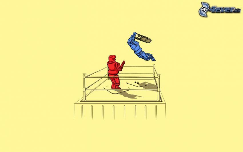 Robots, luchador
