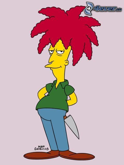 Sideshow Bob, Los Simpson