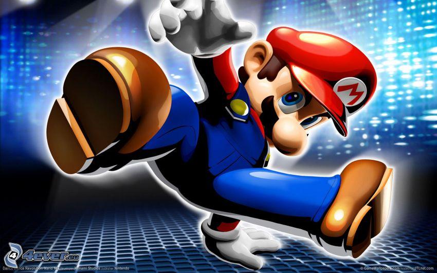 Super Mario, baile