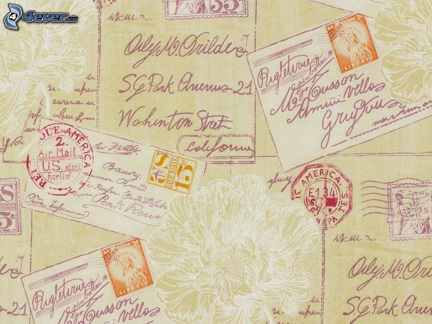 tarjeta postal, correo