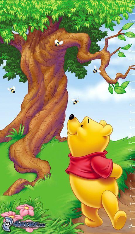 Winnie the Pooh, dibujos animados, historia